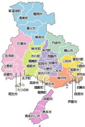 画像 : 兵庫県地図画像集 - NAVER まとめ